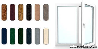 выбор цвета окна в Одессе